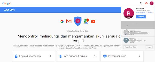 atau akun gmail merupakan salah satu akun yang harus kita jaga  Membuat Keamanan Akun Google