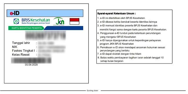 e-ID BPJS Kesehatan