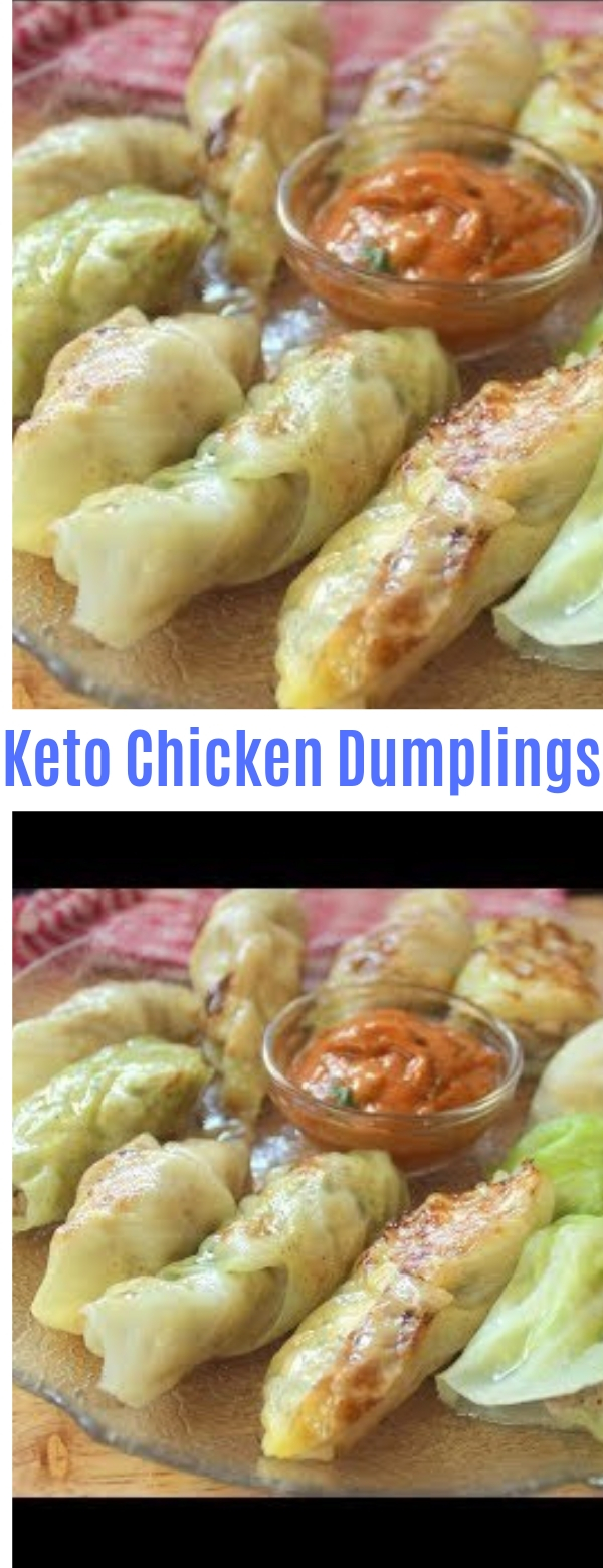 Keto Chicken Dumplings