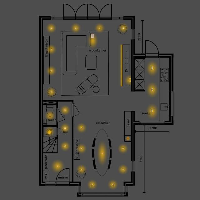 Kies de juiste verlichting, mijn tips voor een goed lichtplan!