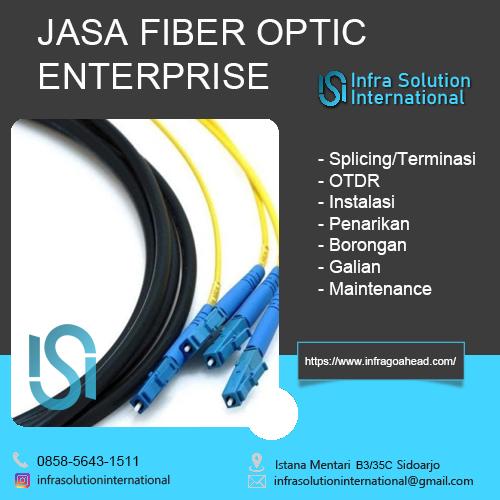 Jasa Fiber Optic Lumajang Enterprise
