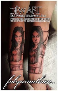Alice csodaországban Dark verzió , tetoválás By : Déw art, folyamatban....