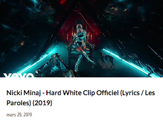 Nicki Minaj - hard White Clip Officiel 2019