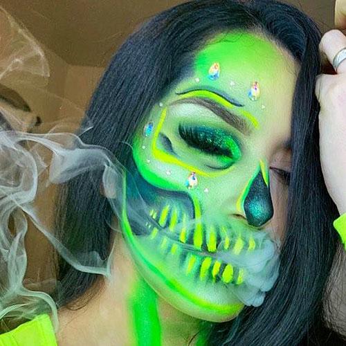 maquillajes raros para halloween