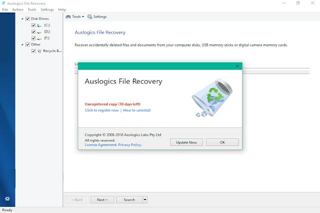 تحميل برنامج Auslogics File Recovery