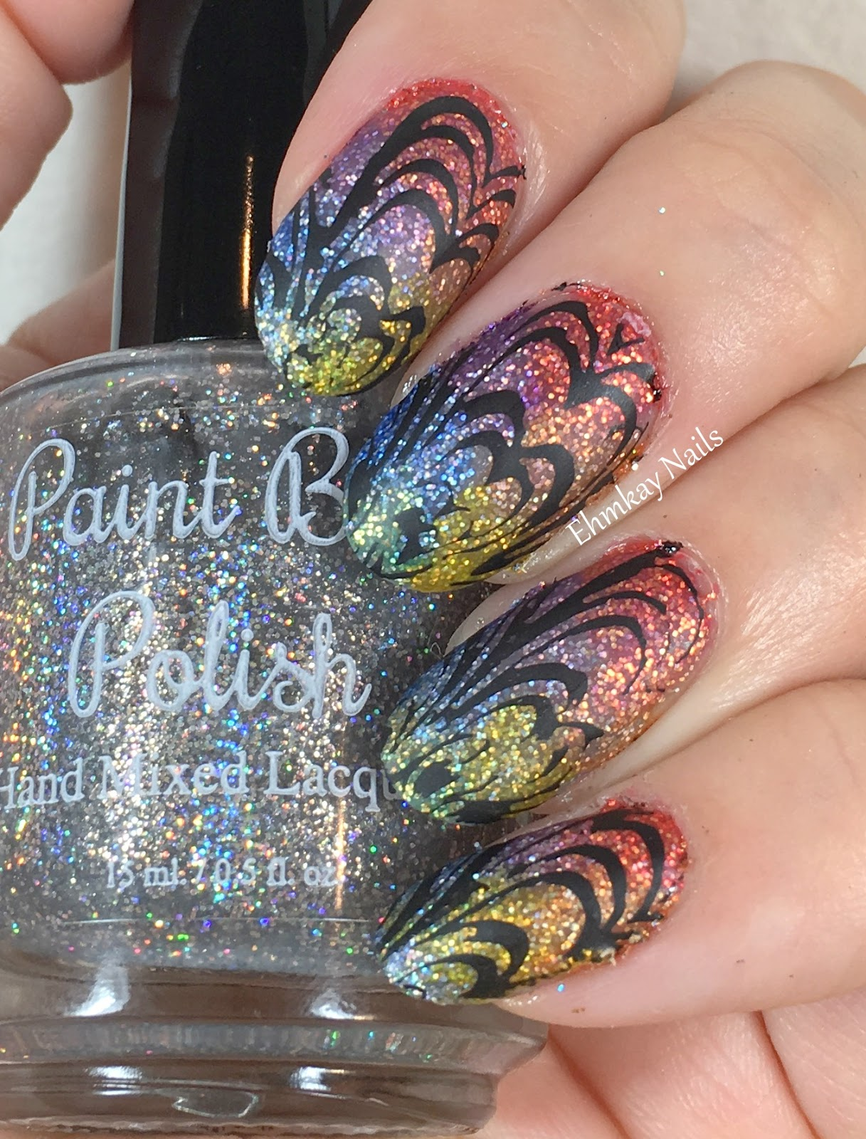 ehmkay nails: Paint Box Polish Westerosi Collection Nail Art with ...