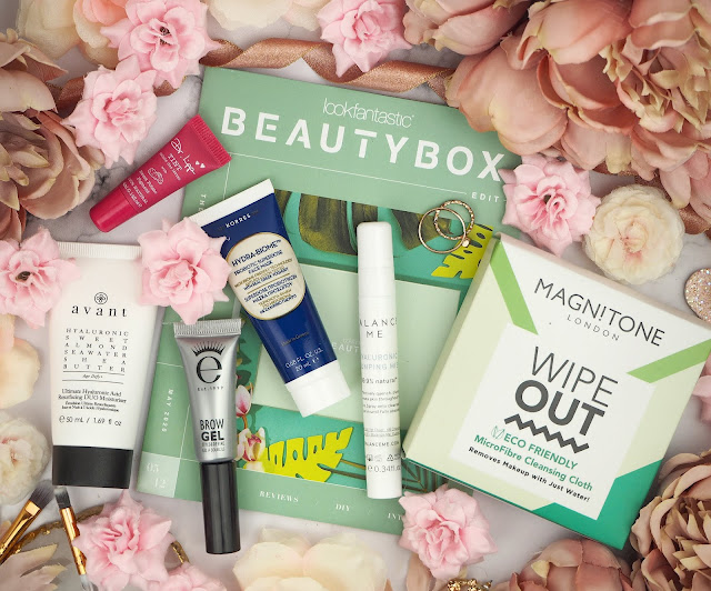 May 2020's LookFantastic Box - 'The Botanical Edit Lovelaughslipstick Blog