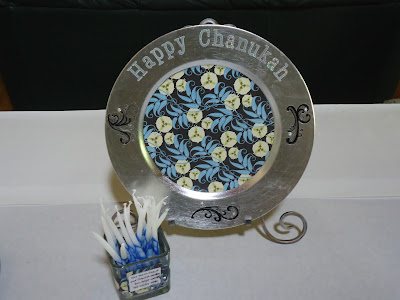 Chanukah projects and decor
