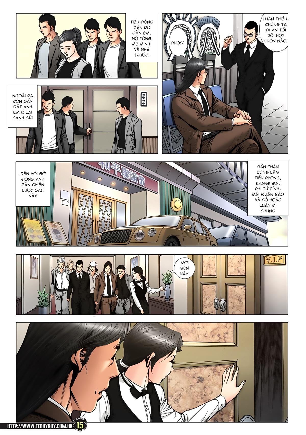Người Trong Giang Hồ chapter 1942: trí tuệ chung cực trang 13