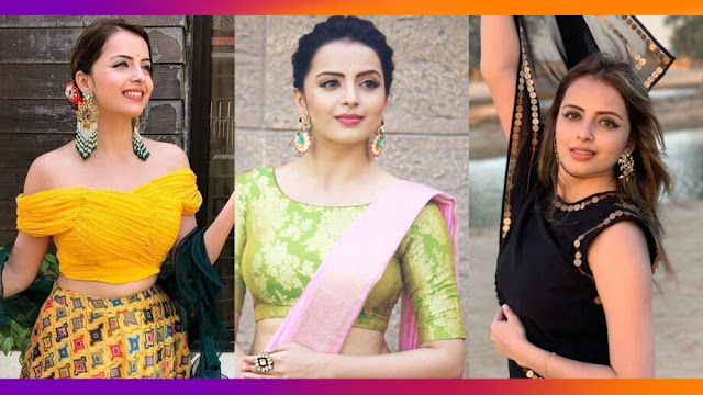 WOW! Shrenu Parikh is quite fond of ethnic wear . Check out!