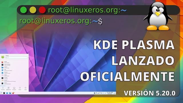 KDE Plasma 5.20 Lanzado oficialmente
