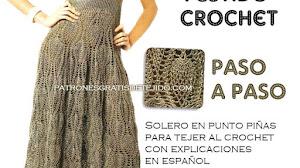 Solero tejido al crochet / Paso a paso