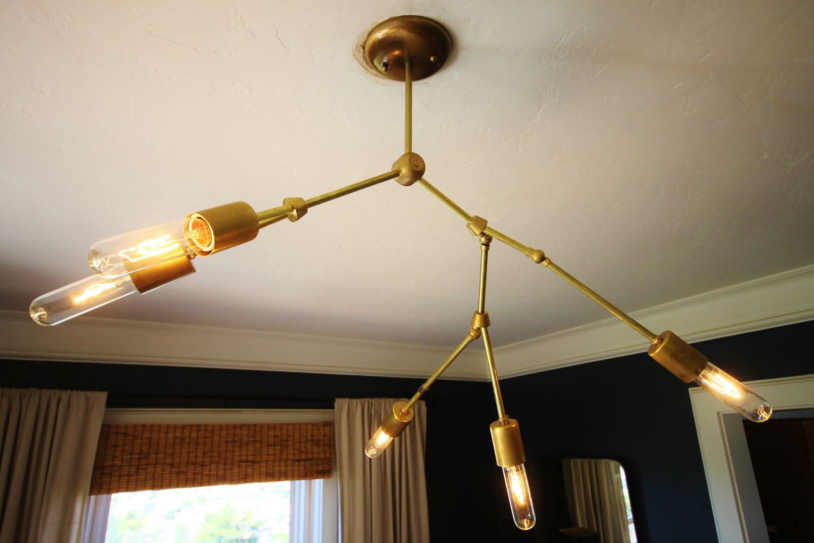 Modernhaus Watch Someone Else Make A Diy Lindsey Adelman Chandelier