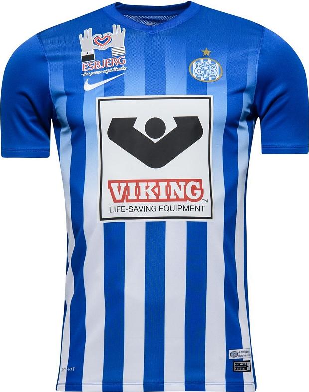 df0f2ec7f3 Nike apresenta a nova camisa titular do Esbjerg - Show de Camisas