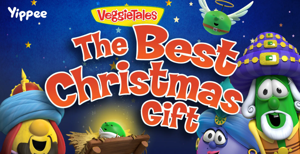 Yippee has VeggieTales Christmas #ad