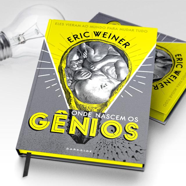 Onde Nascem os Gênios, editora darkside, livros editora darkside