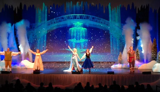 Musical de Frozen en Parque Hollywood Studios