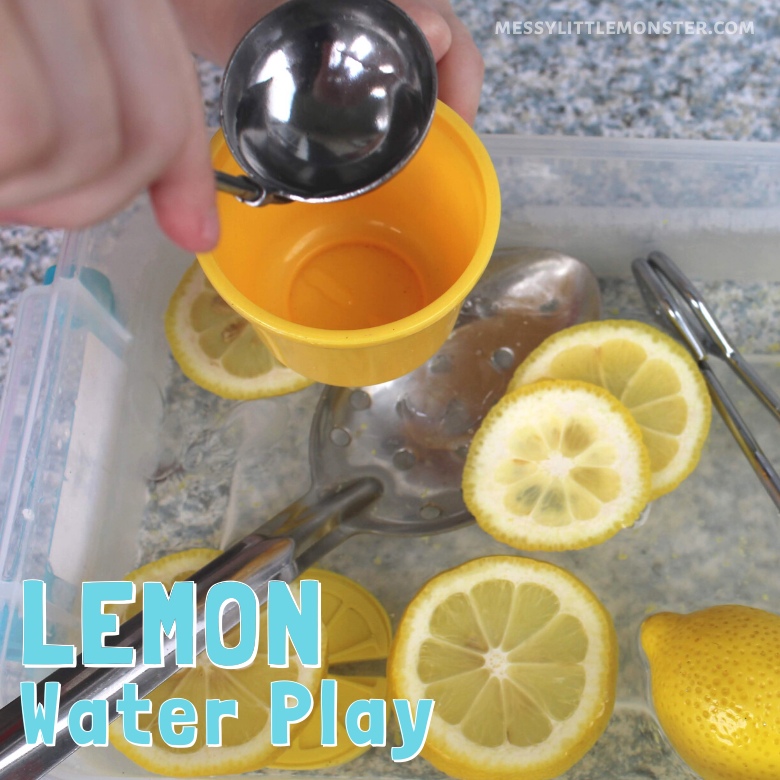 Lemon water play