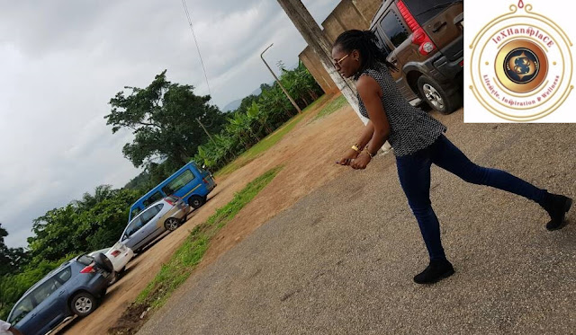 mildred menkiti at the Nsawam Female Prisons, Nsawam, Ghana 13