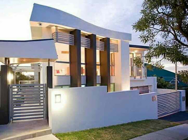 Bentuk Rumah Minimalis 2 Lantai Terbaru