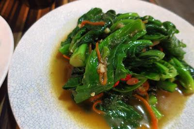 Gin Khao, kailan fermented beans chilli