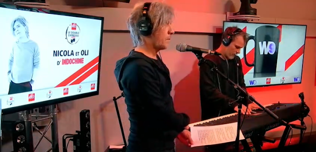 Indochine en 'Le Double Expresso RTL2'