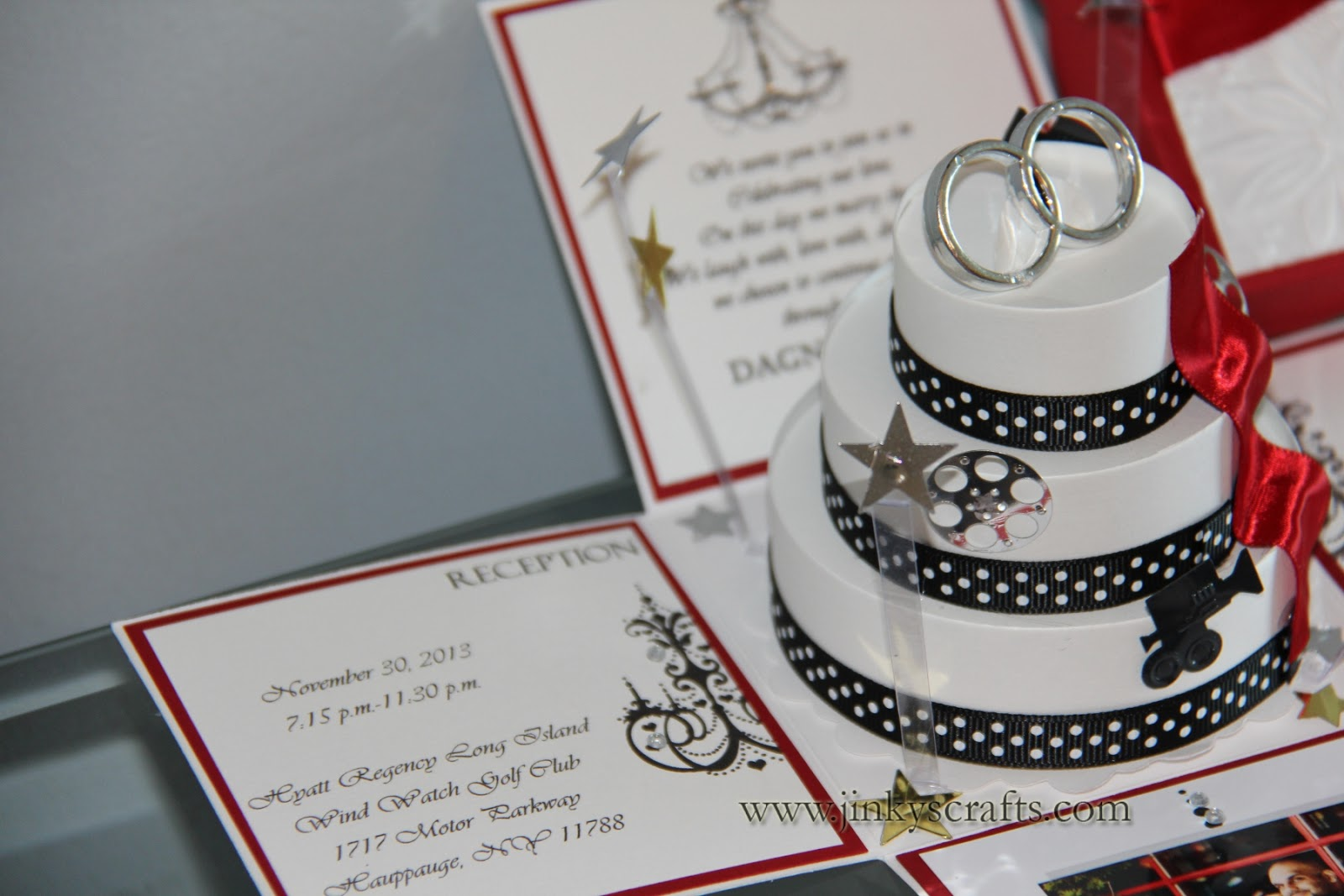 Interesting Wedding Invitation Ideas: Jinky's Crafts & Designs: Hollywood Themed Wedding Invitations
