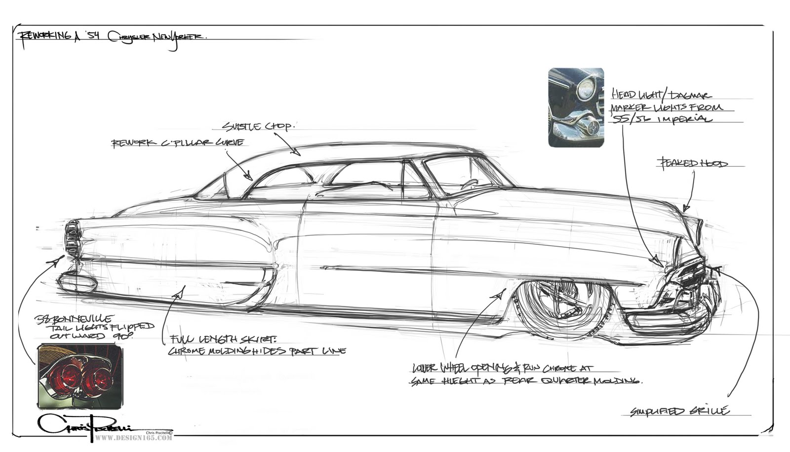 Design165 Thoughts On A 54 Chrysler