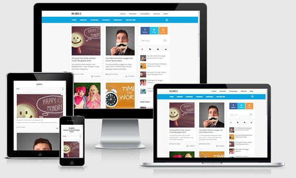 In SEO v2 -  Blogger Template - Blogging