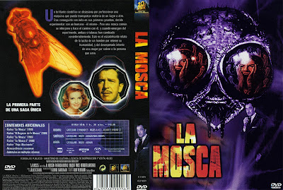 Carátula dvd: La mosca (1958) The Fly