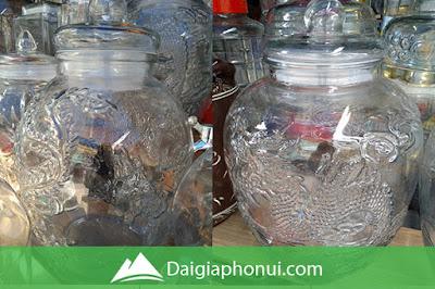 Bình Ngâm Rượu Trung Quốc Giá Rẻ - Chum Long Phụng - Dai Gia Pho Nui