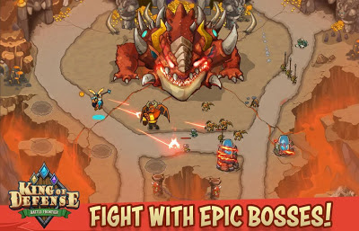 King of defense: Battle frontier for Android