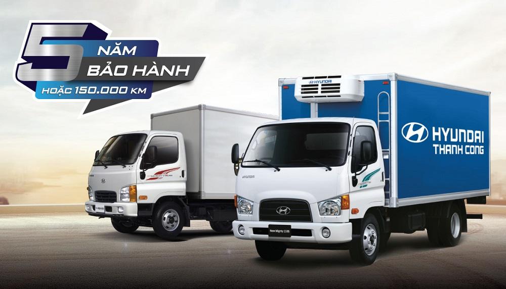 Hyundai tăng thời gian bảo hành xe thương mại lên 5 năm