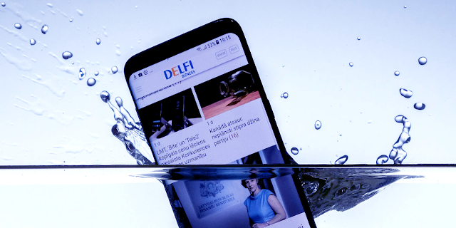 What to do when phone falls inside water