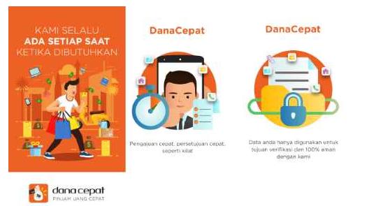 Pinjaman Online DanaCepat 1jam Langsung Cair Tanpa Ribet