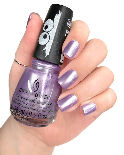 China Glaze Ah Ah Ah-Mazing 25 Sweetpeas