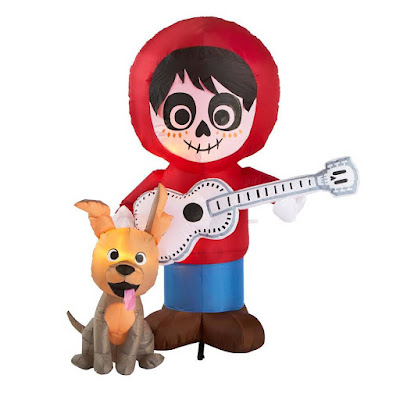 6.5 ft. Disney and Pixar's Coco's Miguel with Guitar and Dante