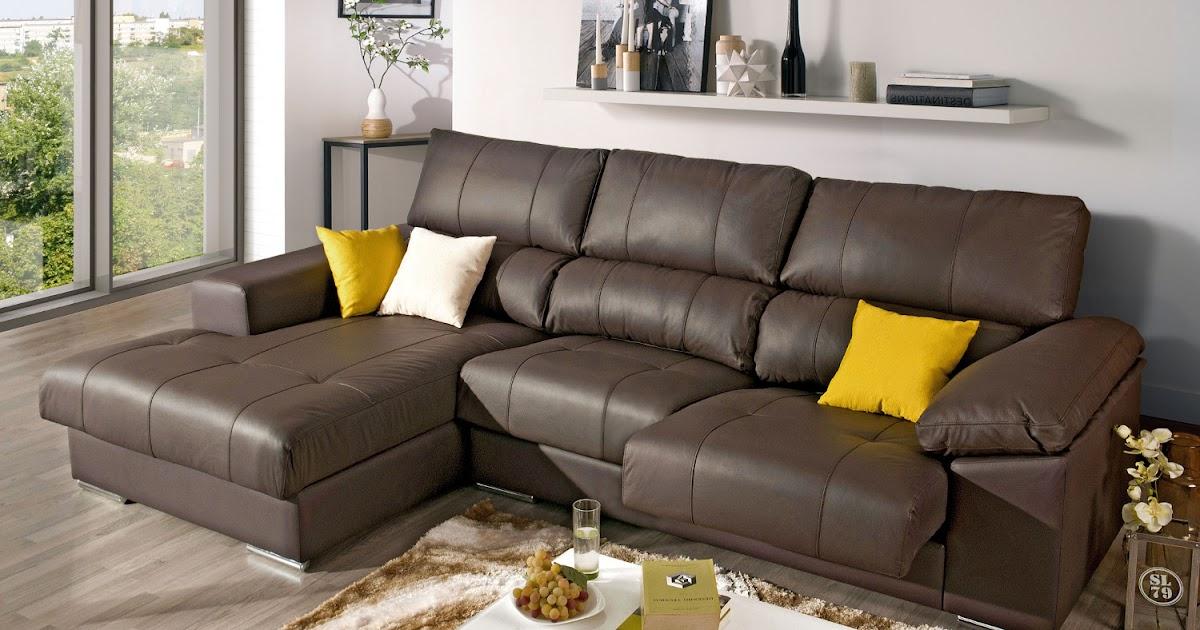 Elegante sof com chaise longue decora o e ideias for Sofa elegante