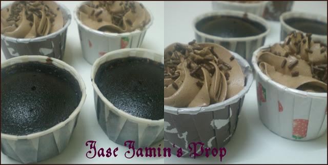 haruman dapur kek coklat butter cream Resepi Kek Coklat Tanpa Telur dan Cuka Enak dan Mudah