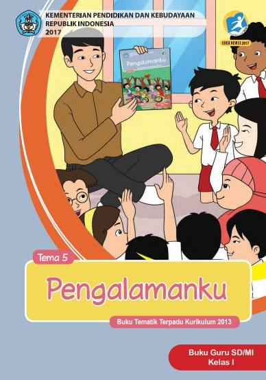 Buku Guru Kelas 1 Tema 5 Revisi 2017, 2018-2019 Kurikulum 2013