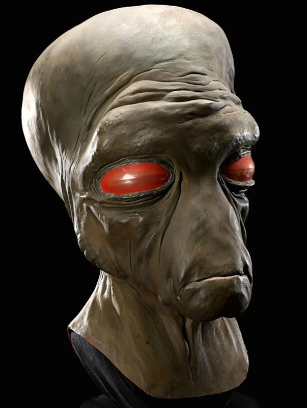 Star Wars Duros Cantina latex mask