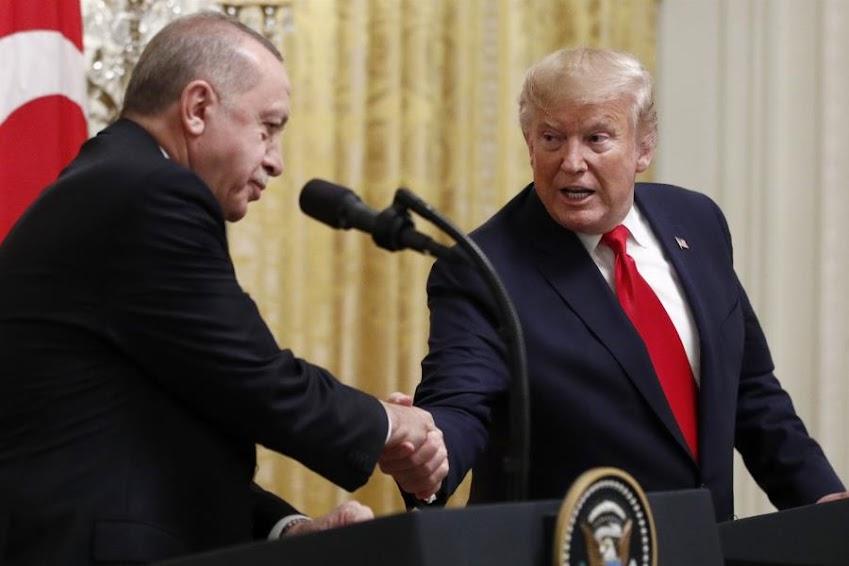 Το τραπεζικό σκάνδαλο και η στήριξη Τραμπ σε Ερντογάν