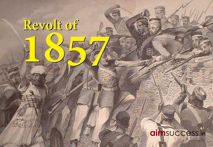 Modern History Notes: Revolt of 1857 for SSC & HP Allied Services