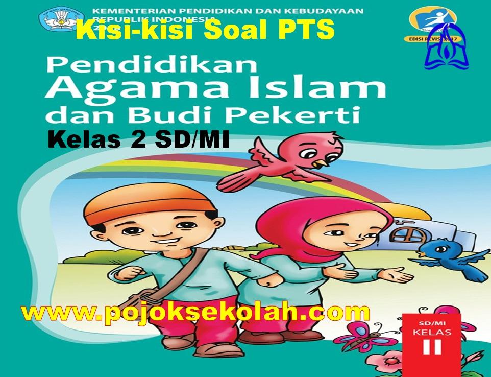 Kisi-kisi Soal PTS Mapel PAI & BP Kelas 2 SD