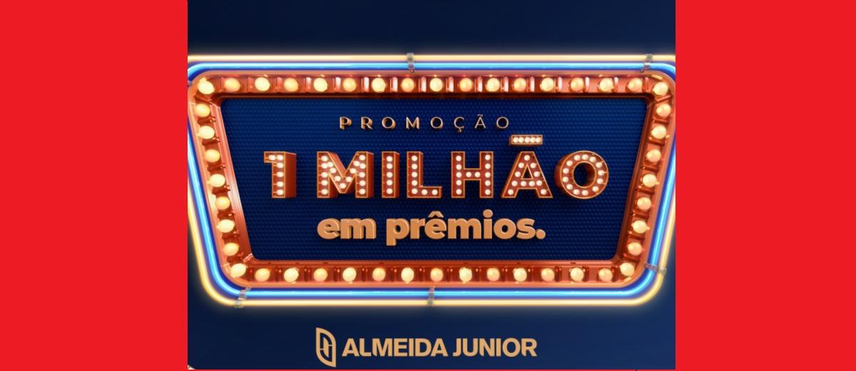 Promoção Almeida Junior 1 Milhão em Prêmios │ Shoppings