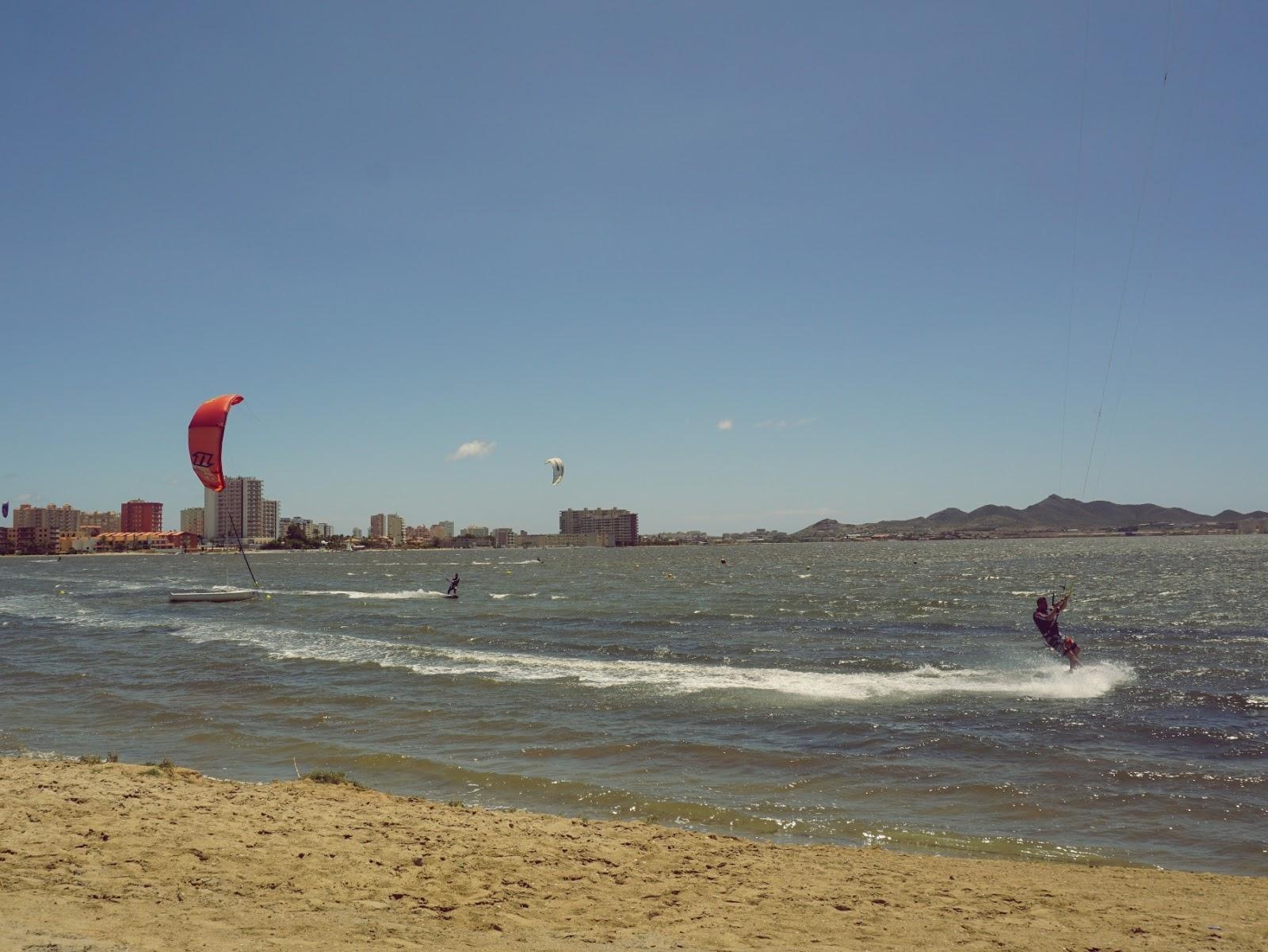 kitesurfing, Pani Dorcia, panidorcia blog, blog o Islandii, blog o Hiszpanii, wakacje w Hiszpanii, urlop w Hiszpanii, La Manga, morze, plaża, La Mar Menor