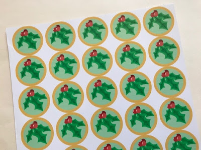 Custom Christmas stickers from Sticker You