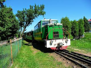 Выгода, Долинский район, Ивано-Франковская обл. Экскурсия по узкоколейке карпатским трамваем