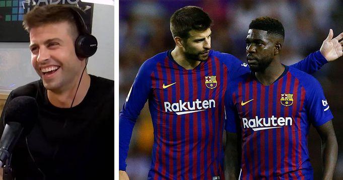 Pique criticise Barca fans for whistling Umtiti praises player attitude