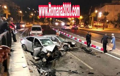 حصيلة مرعبة  لحوادث السير بالمناطق الحضرية خلال أسبوع بالمغرب